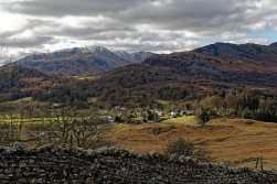 Looking down towards Elterwater