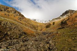 Looking up Stickle Ghyll