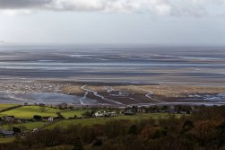 Looking across Morecambe Bay