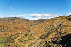 Path up Helm Crag