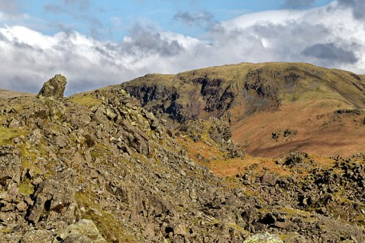 Helm Crag looking towards Steel Fell