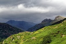 Looking across Langdales