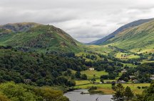 Helm Crag & Dunmail Raise road